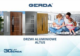 gerda aluminiowe drzwi zewnętrzne poznań